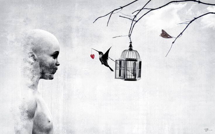 lintu ei ylety viemään sydäntä miehelle