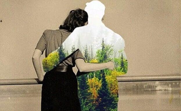 miehen puku on metsä