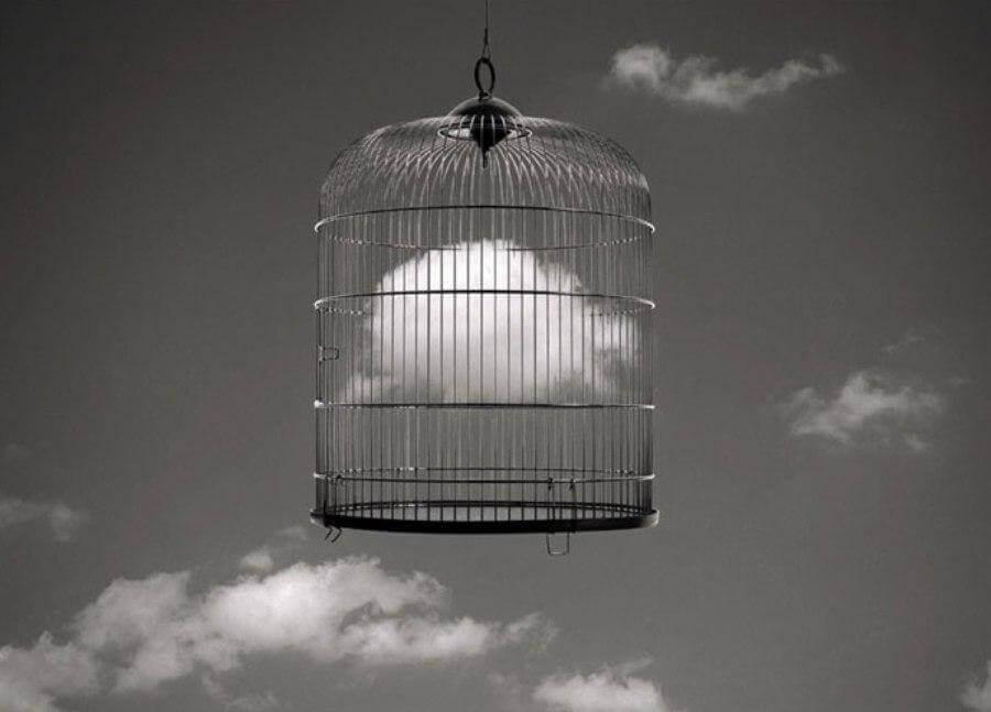 pilvi häkissä