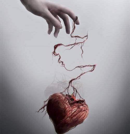 psyykkinen väkivalta irrottaa sydämen