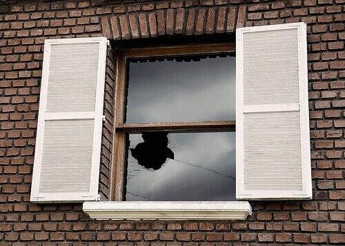 rikkinäisten ikkunoiden teoria