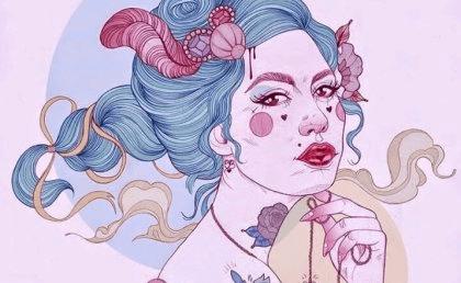 naisen tatuoinnit