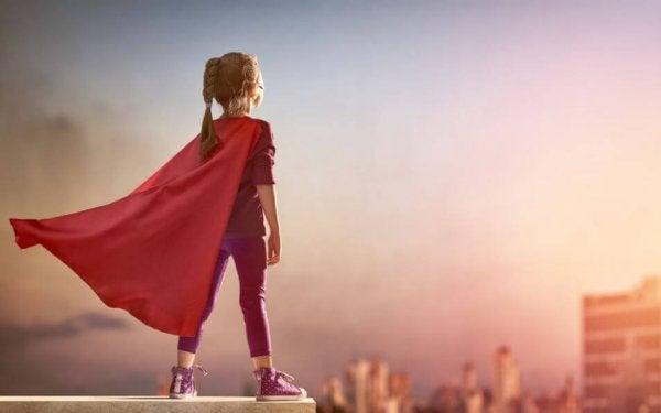 Entä jos opettaisimme tyttöjä olemaan rohkeita täydellisen sijaan?