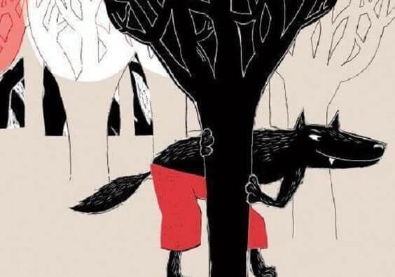 susi vaanii puun takana