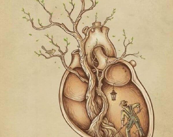Kasvu sydämen syvyyksistä