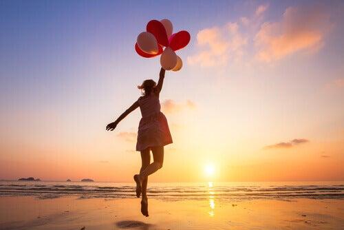 Tytön ilmapallot