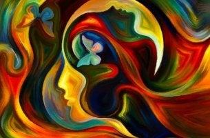 mielemme toiminta on värikästä