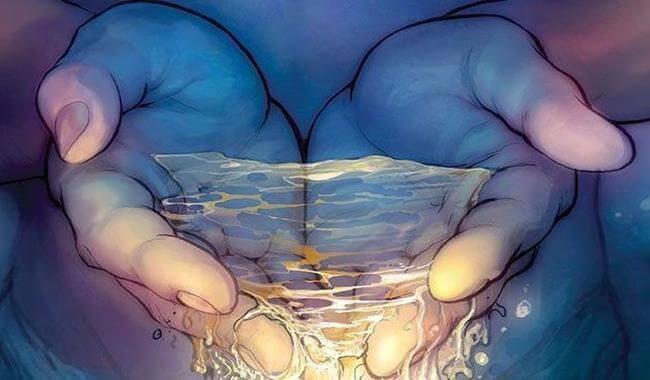 vesi valuu käsistä