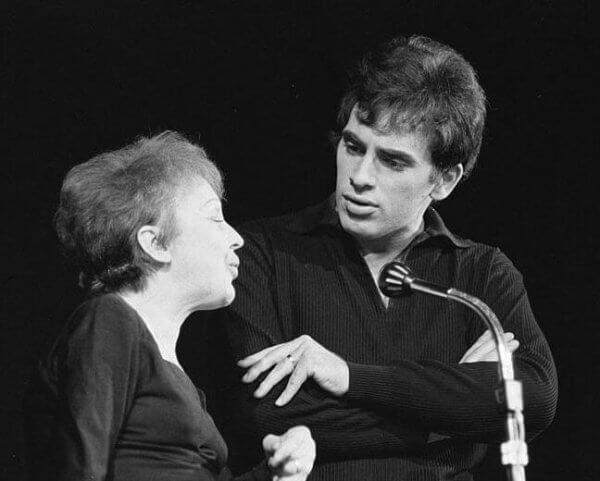 Edith piaf ja Theo Sarapo sekä rakkauden funktio