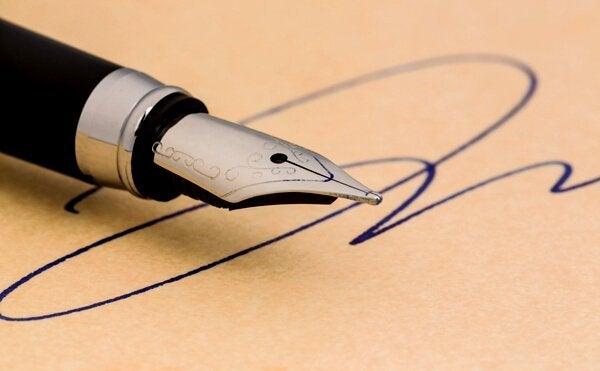 Mitä allekirjoituksesi kertoo sinusta