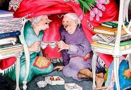 mummot saavat naurukohtauksia