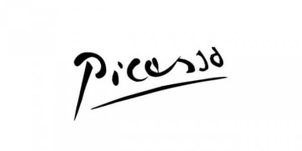 Picasson allekirjoitus