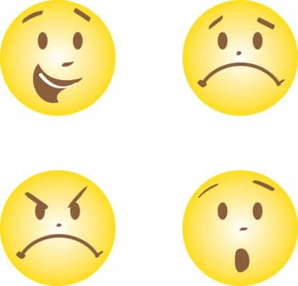erilaiset emojit