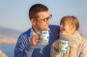 Isän ja tyttären yhteistä aikaa