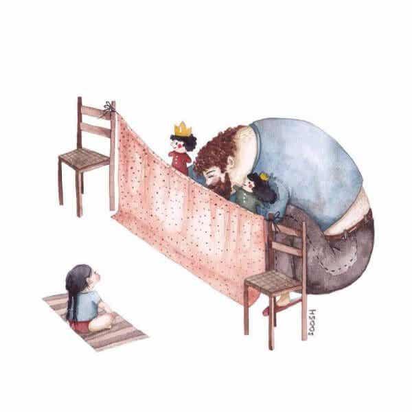 Isän ja tyttären suhde: koskettava kirje