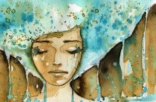tunteet ottavat vallan naisesta