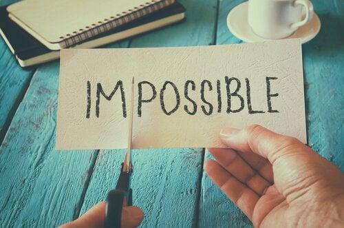 mahdottomasta mahdollinen