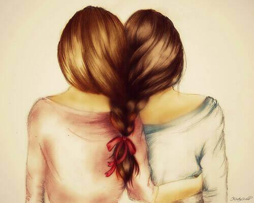 yhteen letitetyt tytöt