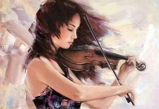 viulunsoittajanainen