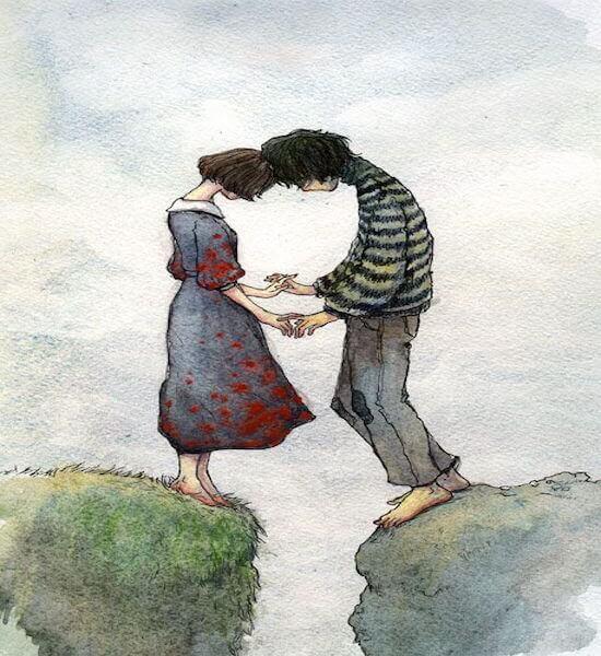 tyttö ja poika ja me kaikki tarvitsemme rakkautta