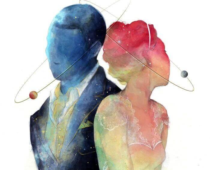 ero miehen ja naisen välillä