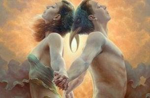 naisen ja miehen todellinen rakkaus