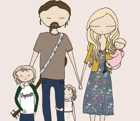 perheellä silmät kiinni