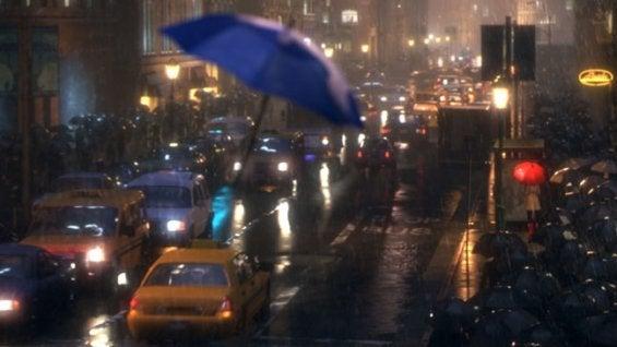 sateenvarjo lähti lentoon