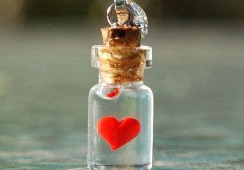 pullon sisässä on sydän