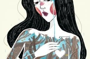 naisen terve itsetunto