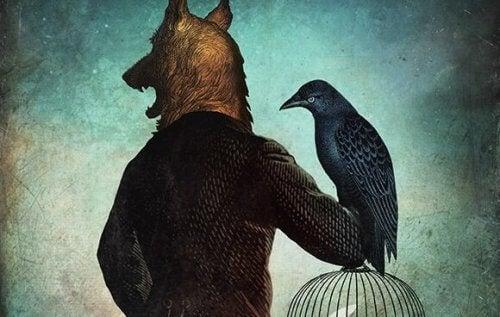 susimies ja lintu