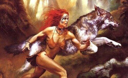 Jokaisen naisen sisällä asuu susi