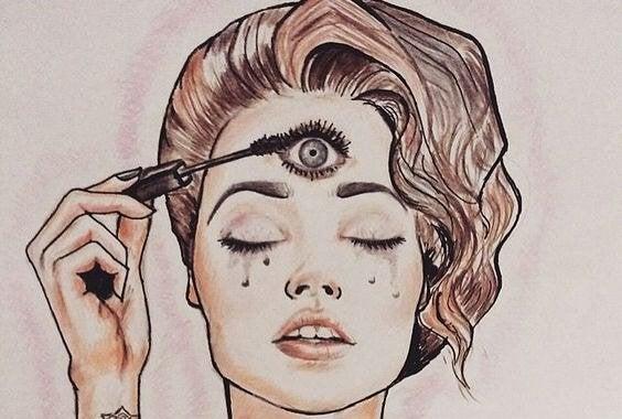 Naisen kolmas silmä