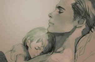 vanhempi ja lapsi