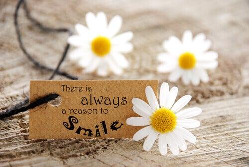 aina on syytä hymyyn