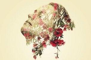 kukat kuvastavat miehen emotionaalista viisautta