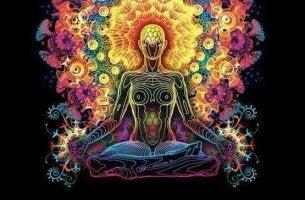 värikästä meditointia