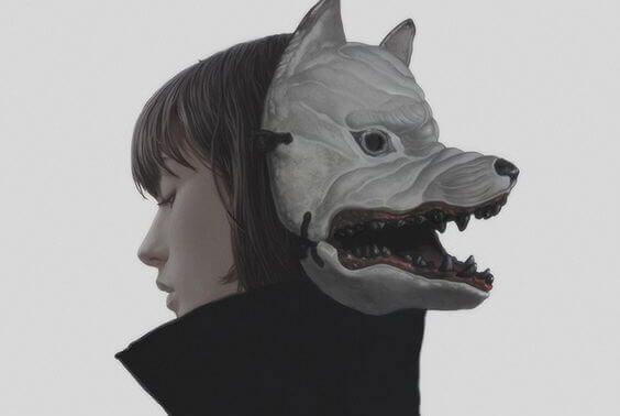 julmat ihmiset käyttävät naamioita