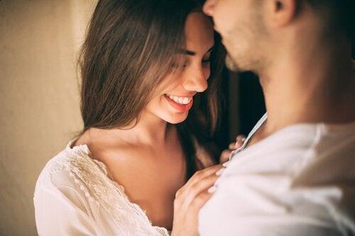 naisen ja miehen seksuaalinen vetovoima