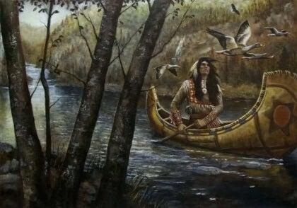 Yhdessä mutta ei sidottuina: siouxien legenda parisuhteista