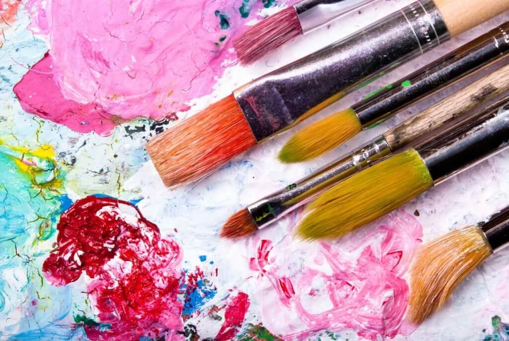 mielen harjoittaminen maalaamalla
