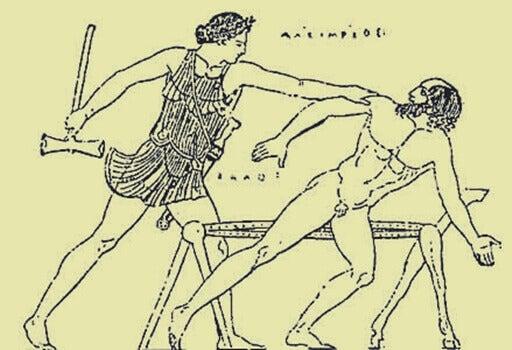 prokrustesin syndrooma vanha piirros