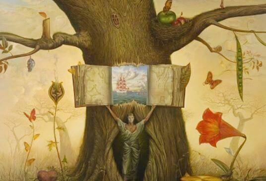 puun sisässä uusi maailma