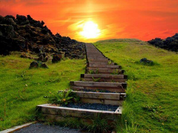 onnellisen ihmisen portaat