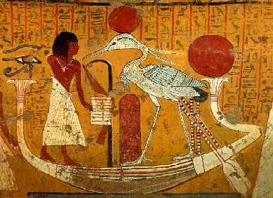 feeniksin myytti Egyptissä