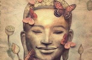 buddha perhoset kukat