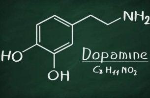 mitä dopamiini on kemiallinen kaava