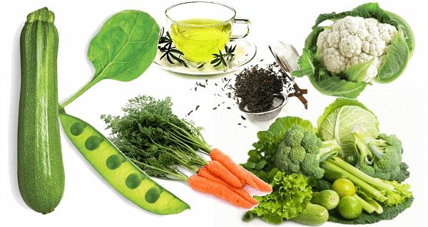 vihreät ruoat