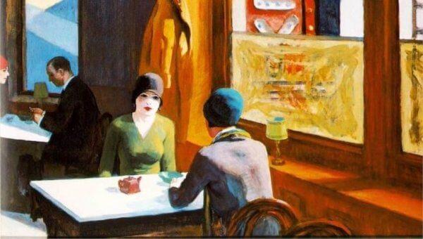 maalaus täynnä sanomaa ja yksityiskohtia