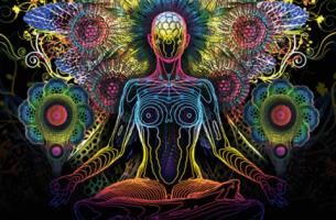 värit ja meditaatio